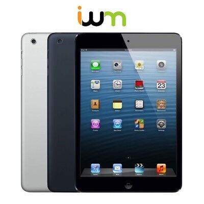 Apple iPad Mini 1st Gen. 16GB 32GB 64GB WiFi OR Cellular - Black / Gray / White