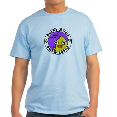 CafePress Ducky Momo Hates People! T Shirt 100% Cotton T-Shirt (699709599) (Duckie Tee)