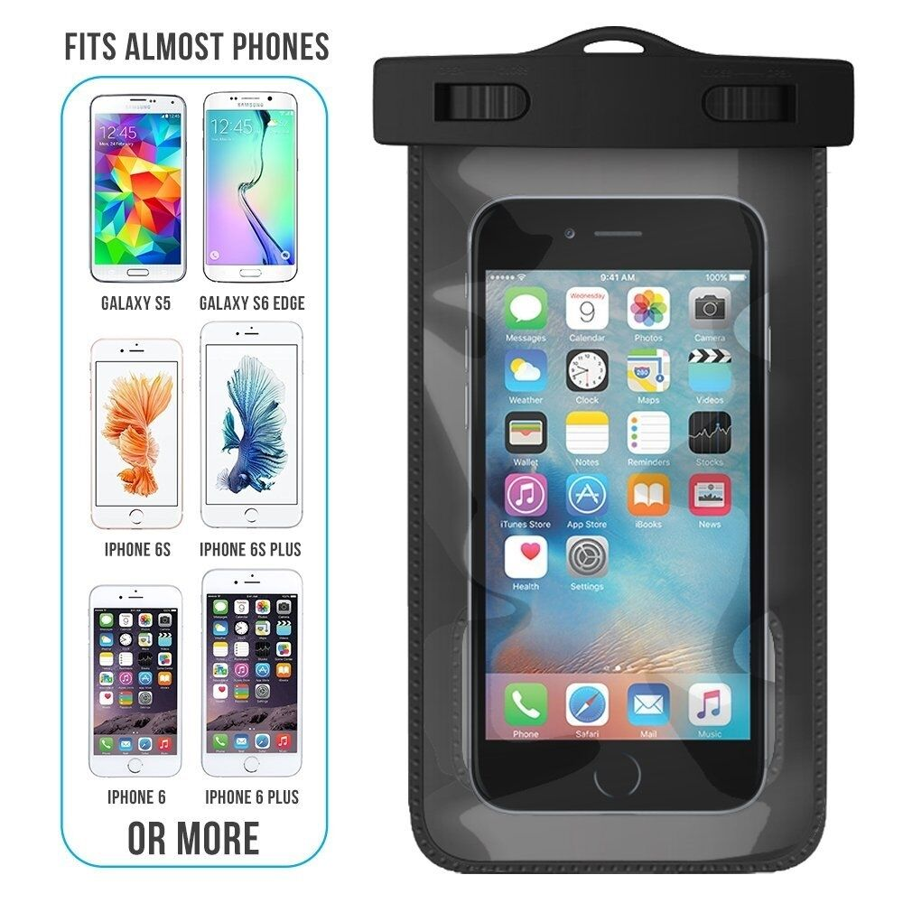 new products 83cec 834f1 Details about Waterproof Underwater Case Cover Pouch For Samsung Galaxy S9  S8 A3 A5 J5 2017
