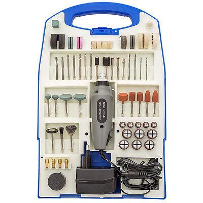 Mini Schleifer Schleifgerät Multifunktionswerkzeug Schleifmaschine Set 110teilig