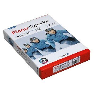 500 Blatt Plano Kopierpapier Superior A4 60 g/qm Kopier Papiere