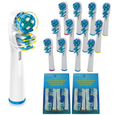 20pcs For Braun Oral B Dual Clean Replacement Electric Toothbrush 2 Brush