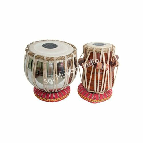 Tabla set Best of Beginner Tabla Set Steel Bayan Shisham Wood Dayan with
