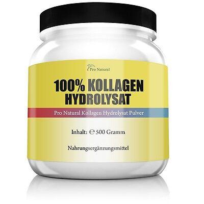 Pro Natural Kollagen - Hydrolysat 500g Collagen für die Gelenke & Knorpel