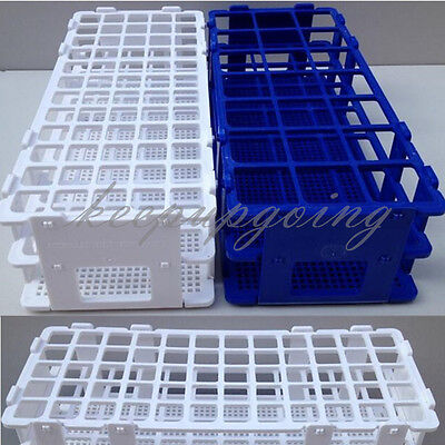 4060holes 3 Layers Plastic Test Tube Rack Holder Storage Stand Lab Equipment