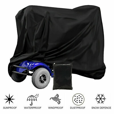Mobility Scooter Cover Wheelchair Waterproof Sun Shade Storage Rain Protection