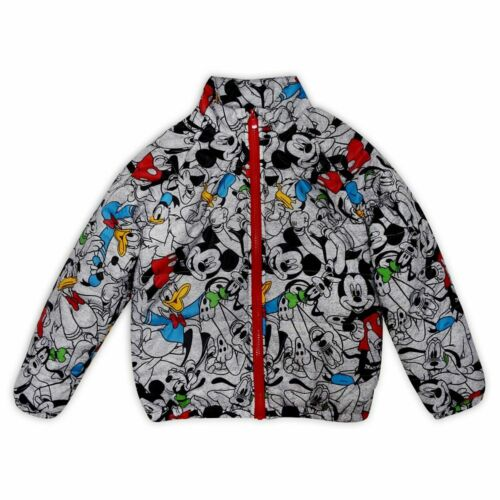 Disney Store Mickey Mouse & Friends Lightweight Puffer Jacket Kids sz 2, 3 or 4