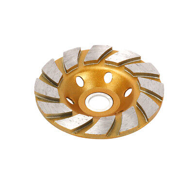 4 Inch Diamond Grinding Disc Cup Abrasive Granite Wheel For Angle Grinder 12t