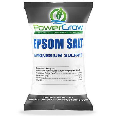 Epsom Salt  Magnesium Sulfate  Agricultural Fertilizer Grade   Bulk