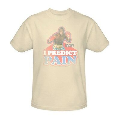 Mr  T T Shirt I Predict Pain Clubber Lang Retro Rocky 80S Movie Tee Mgm114