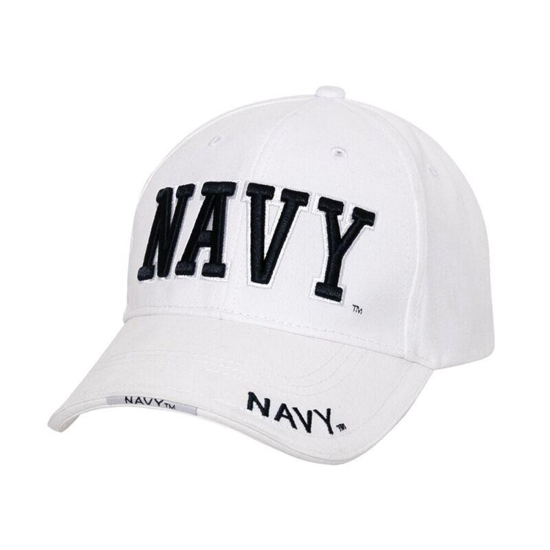 Rothco White Deluxe Navy Cap - 3625