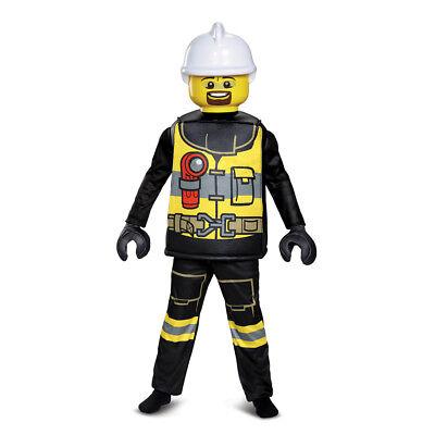 - Kids LEGO Firefighter Deluxe Halloween Costume