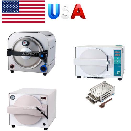 USA 14L/18L Autoclave Steam Sterilizer Dental Sterilizer / with Drying Funation