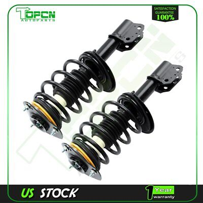 For Chevrolet Impala 2000-2012 Front Quick Struts & Coil Springs w/ Mounts Pair