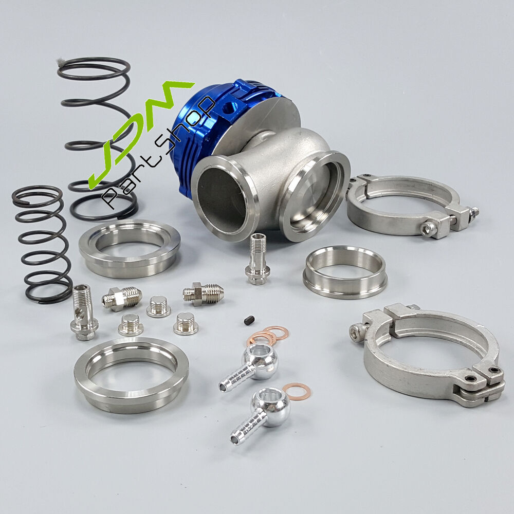 MVR44 44mm water cold performance wastegate 50mm blow off valve BOV50 Q50 Blue