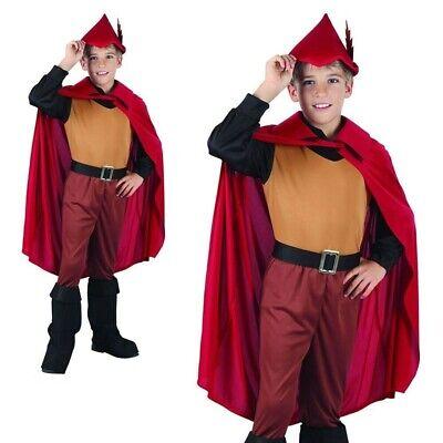 Jungen Robin Hood Kostüm Wald Prinz Kostüm Buchwoche Tag Outfit - Wald Prinz Kostüm