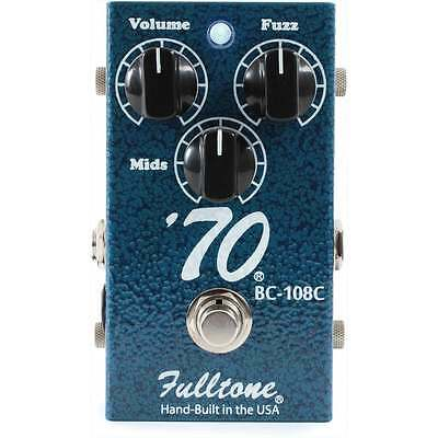 Fulltone USA 70 Fuzz Guitar Effect Pedal - Brand New