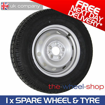 """15"""" Citroen Relay 2006 - 2017 Full Size Spare Steel Wheel and 215/70 R15 Tyre"""