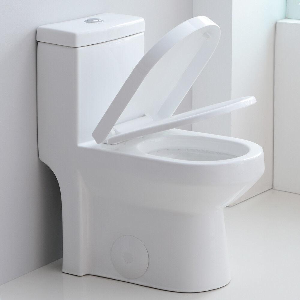 modern small toilet nib one piece toilet