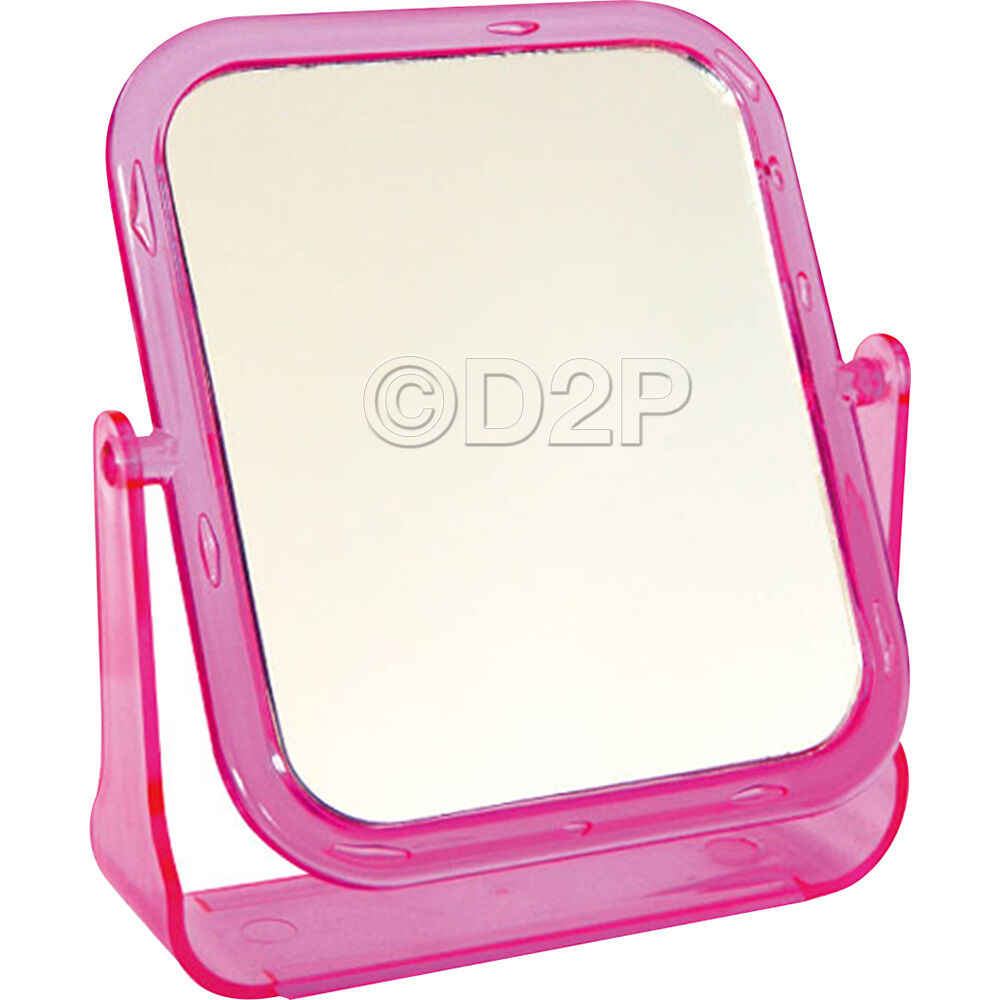 Double Sided Mirror Free Standing Makeup Magnifying