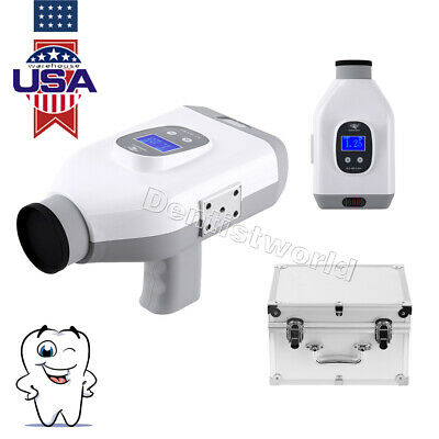 Dental Portable Digital X-ray Imaging System Mobile Film Machine Green Xray Unit