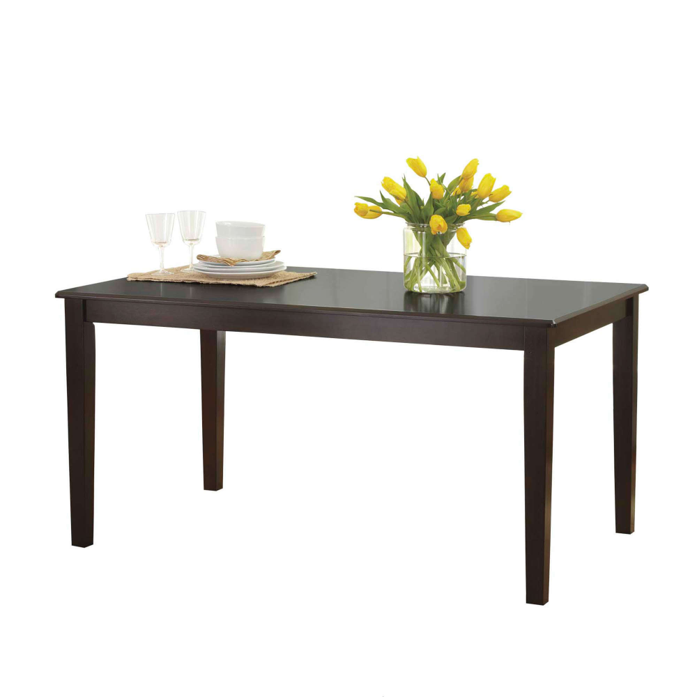 Better Homes and Gardens Bankston Dining Table Mocha | eBay