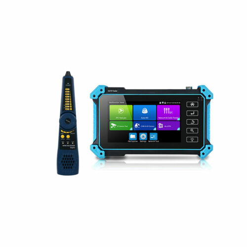 5Inch HD IP CCTV Tester Monitor 8MP AHD CVI TVI SDI Cable tracer HDMI VGA In POE