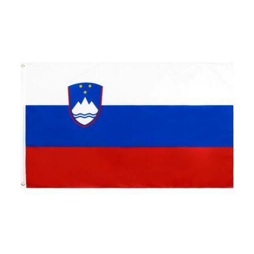 New 90x150cm Slovenia Flag SVN SI Slovenija