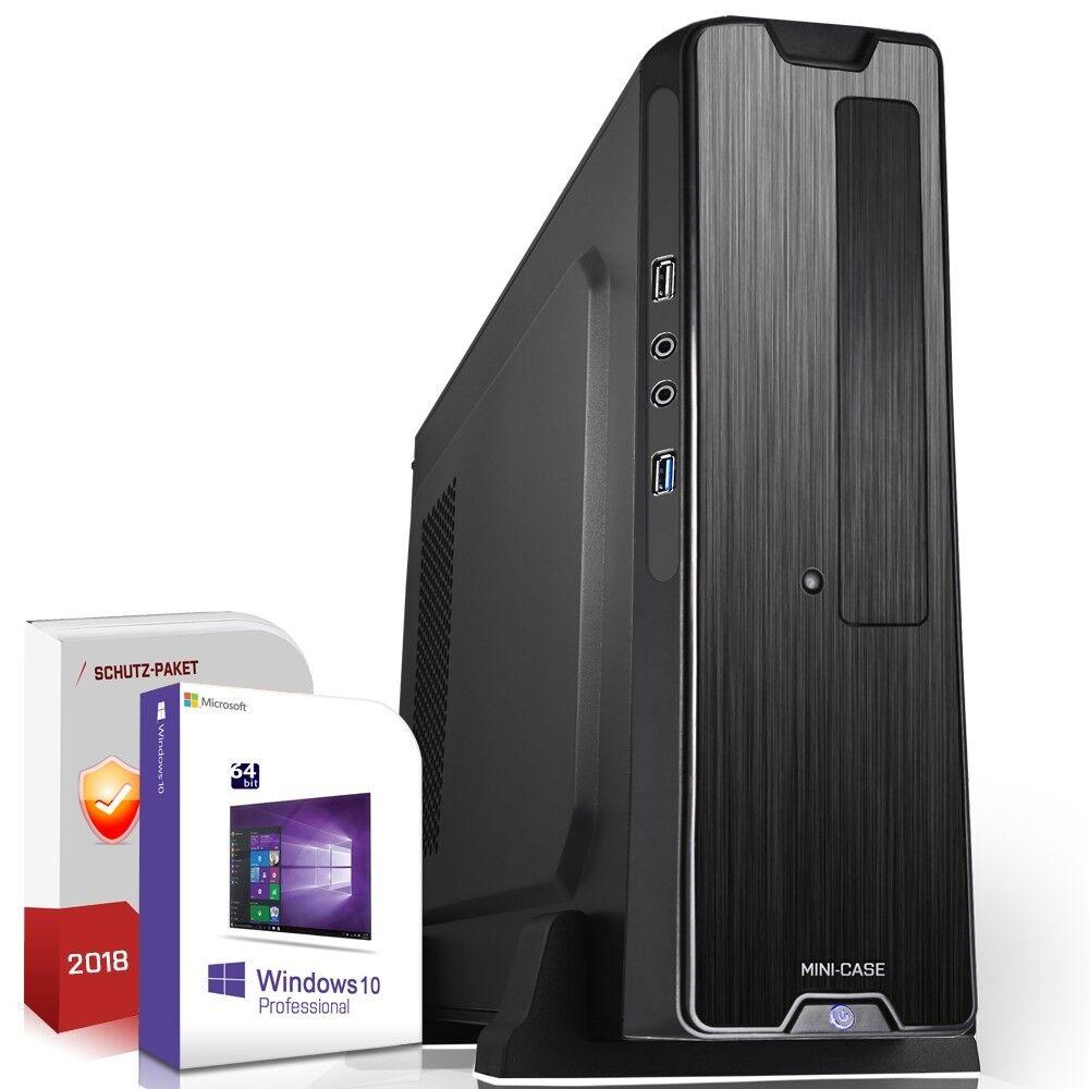 PC Quad Core AMD A10 • 8GB RAM • 256GB SSD • Win10 • Rechner Komplett GAMER