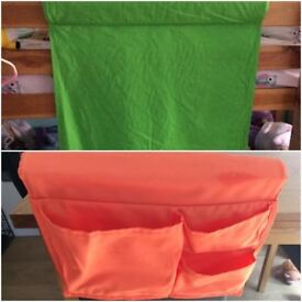 Ikea Bunk Bunk Curtain & Storage Pocket