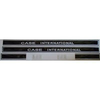 Hc255 Compact Tractor Hood Decal Set Fits Case International 255