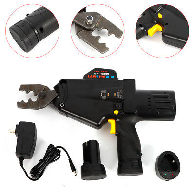 8-50mm 6800 Cordless Terminal Crimping Tool Wire Clamp Cable Electrical Tool