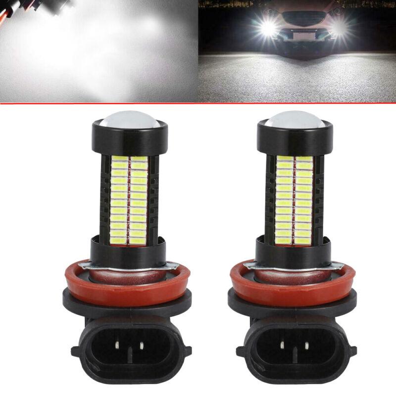 2X CREE H11 H8 LED Fog Light Conversion Kit Bulb High Power 6000K Headlight