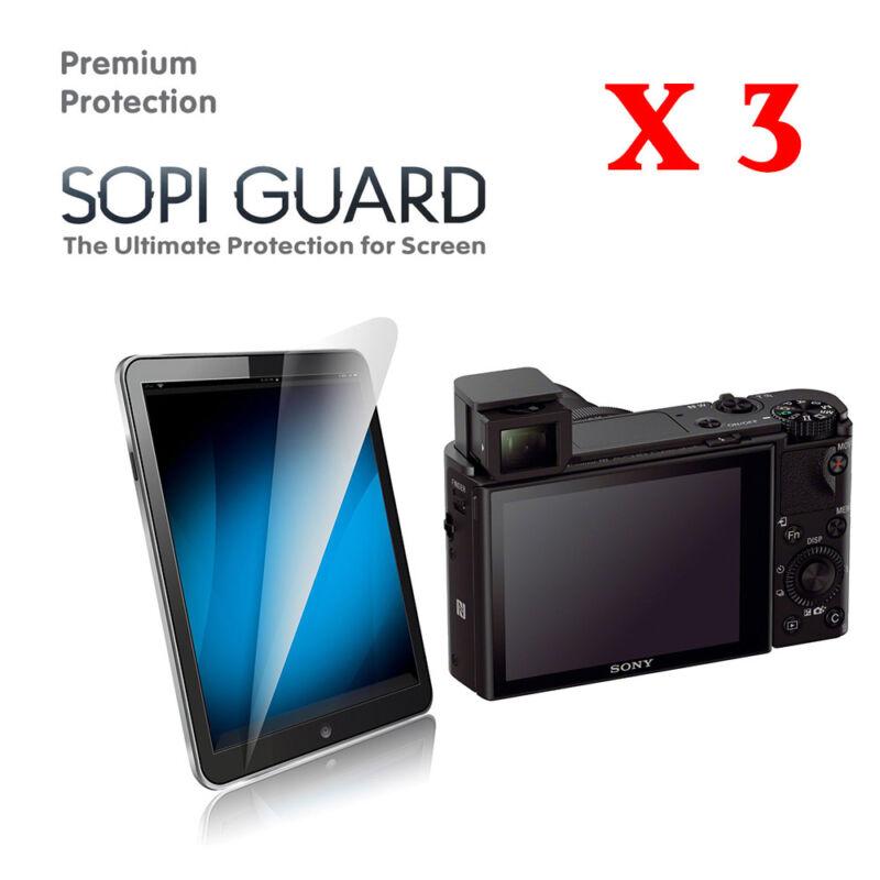 3 x Ultra Clear Screen Protector Sony RX100II RX100III RX100IV RX100V RX100VI 6