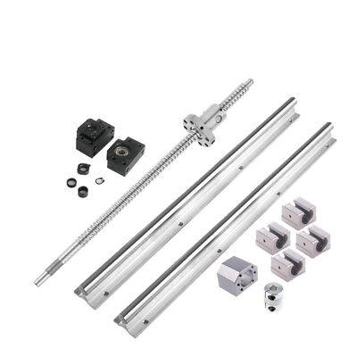 2pcs Sbr16 Linear Rail Set 1pcs Sfu1605 300-1500mm Ballscrew Kit Us Stock