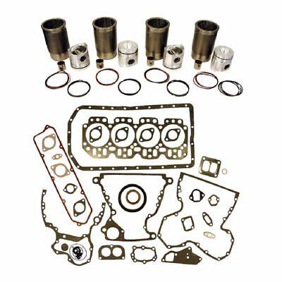 Compatible With John Deere 310b Engine Overhaul Kit 4 Cyl.4.219 Diesel