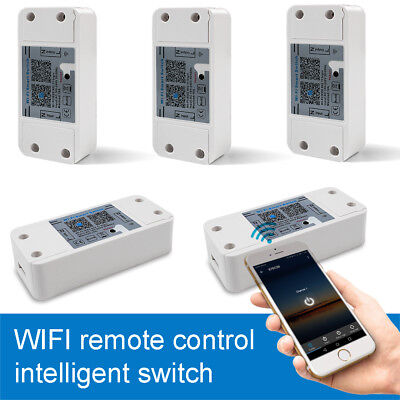 WiFi Smart Switch Timer IOS Android Fernbedienung Home Lamp Steckdose Socket 10A