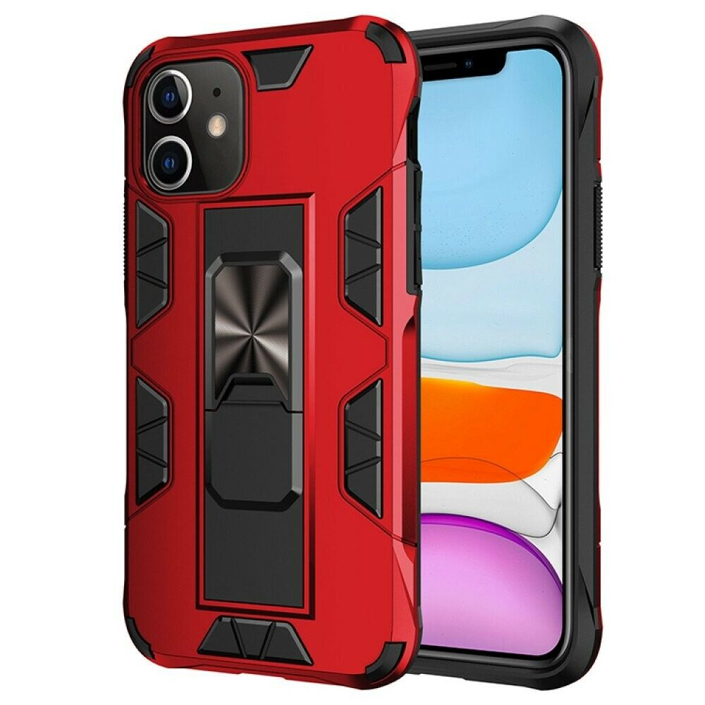 iPhone 11 6.1 Military Grade Armor Protection Stand Magnetic