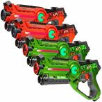 Light Battle Active Lasergame Set - Oranje/Groen - 4 Pack