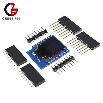 Wemos D1 Mini Oled Display Ssd1306 64x48 0.66 Shield F Esp8266 Arduino Nodemcu