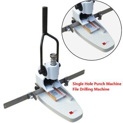 Manual Album Paper Tags Single Hole Punch Machine File Drilling Machine Top