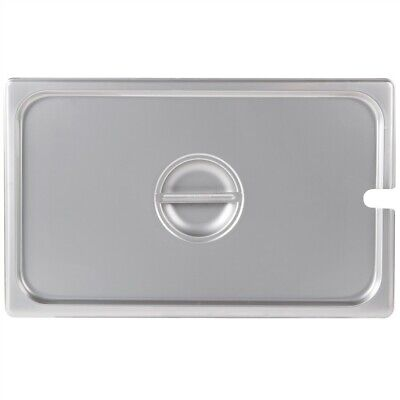Restaurant Supplies Full Size Stainless Steel Food Pan Lid Slotted