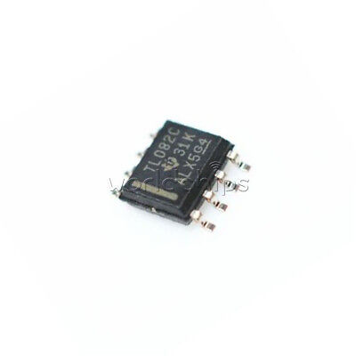 10pcs Tl082 Ti Sop8 Ic Jfet-input Operational Amplifiers