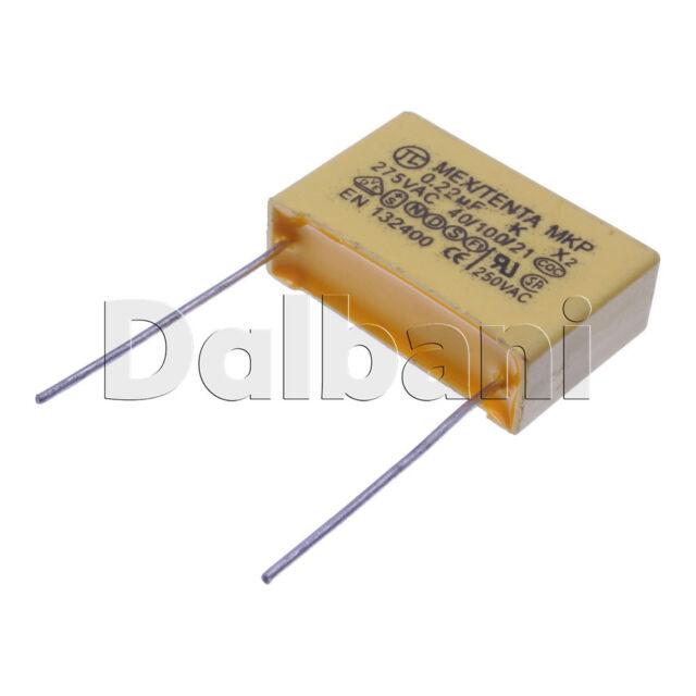 polypropylene safety plastic film capacitor hqx 224 k 275v 0 22uf polypropylene safety plastic film capacitor hqx 224 k 275v 0 22uf pitch 15mm