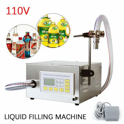 17l One Head Liquid Diaphragm Pump Semi-auto Filling Machine Alcoholic Oil Tube