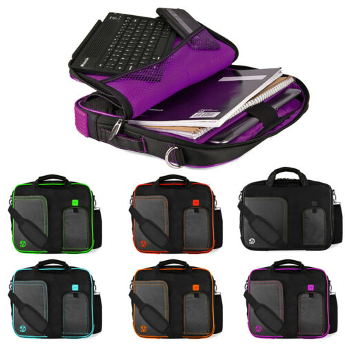 "Magenta VanGoddy Laptop Sleeve Bag Case for 13.3/"" HP EliteBook //MacBook Air// Pro"