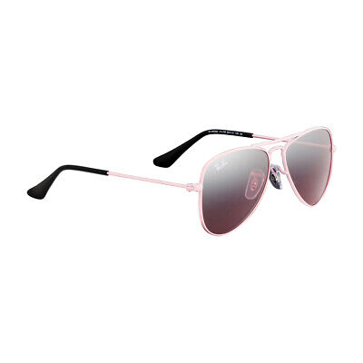 Ray-Ban Aviator Junior Pink Frame Sunglasses 0Rj9506S
