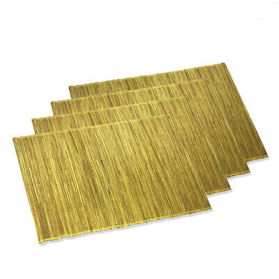 Used, TAG Placemats Dining Kitchen Table Top Green Water Hyacinth  Set of 4 for sale  Saint Peters