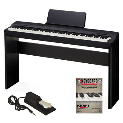 Casio Privia PX-160 Digital Piano - Black HOME PAK