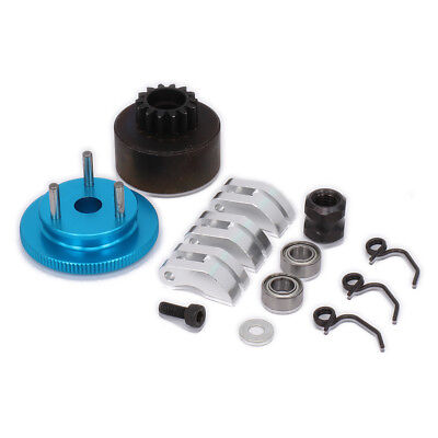 NITRO 1/8 Clutch Set RC Buggy 14T Gear Flywheel Cone & Engine Nut